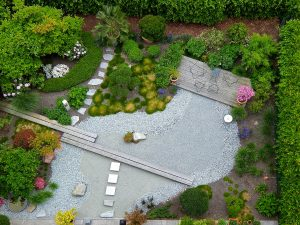 tuinaanleg, landelijke tuin, bloementuin, stadstuin