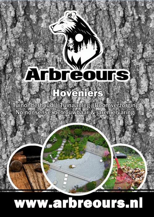 Flyer vz Arbreours hoveniers Drenthe