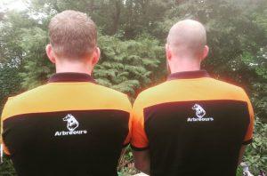 Arbreours Hoveniers nieuwe polo's