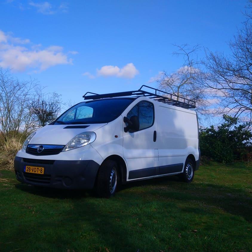 Nieuwe bedrijfsauto: opel Vivaro